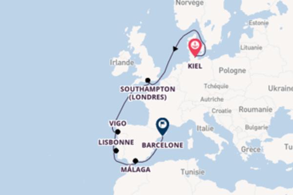 10 jours pour découvrir Copenhague au départ de Kiel
