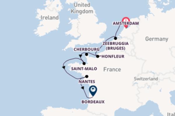 Lasciati conquistare da Nantes arrivando a Bordeaux