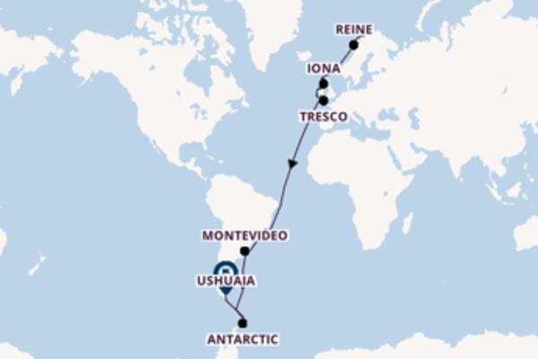 44 day voyage on board the Viking Polaris from Tromsø