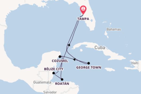 Croisière de 8 jours vers Tampa avec Royal Caribbean