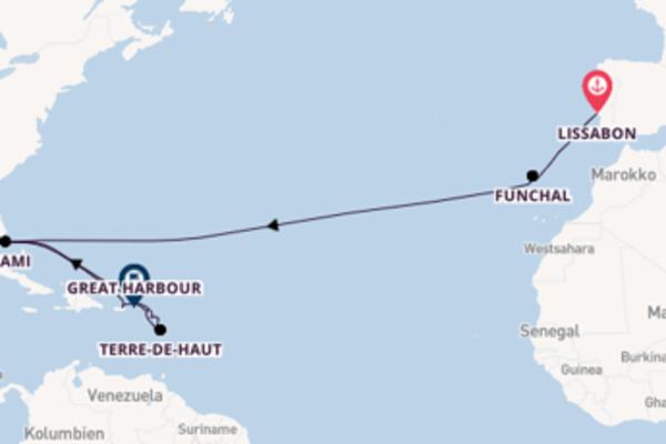 Genießen Sie Antigua auf der Seabourn Sojourn