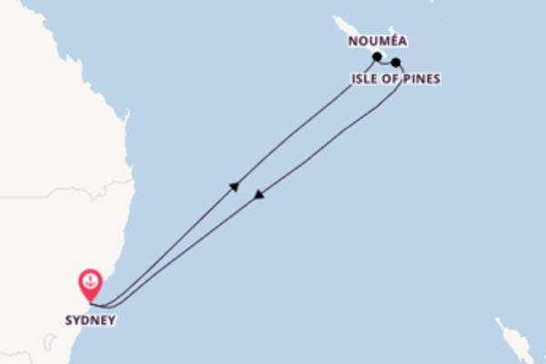 Inigualável viagem até Sydney