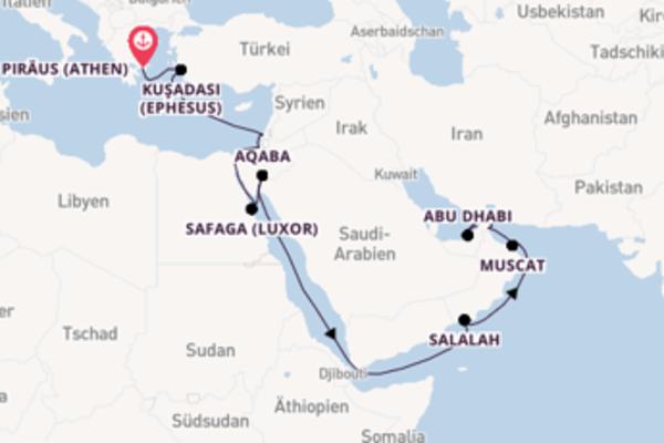 Atemberaubende Reise nach Dubai