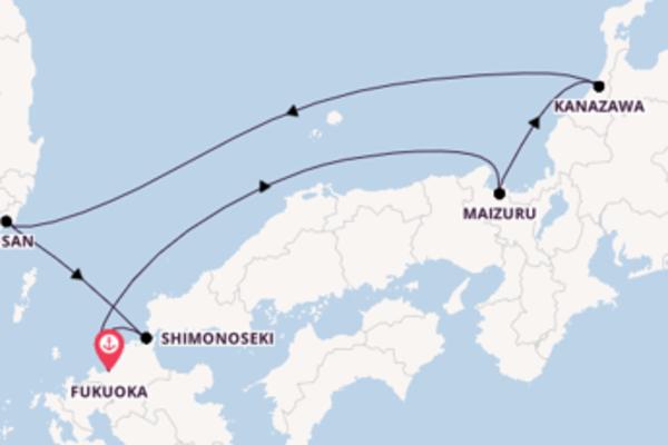 6 Tage Asien Kreuzfahrt