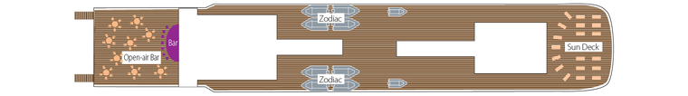 L'Austral Палуба 7 - Zanzibar