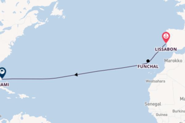 Atemberaubende Reise über Funchal in 13 Tagen