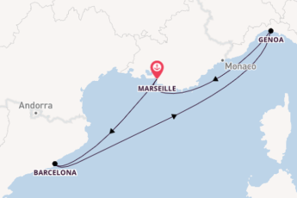 4 day trip from Marseille