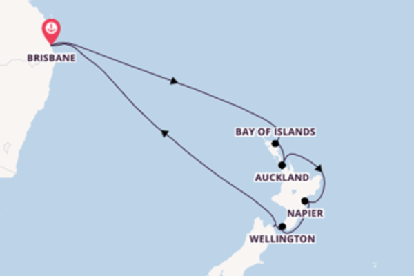 13 day cruise with the Quantum of the Seas to Brisbane