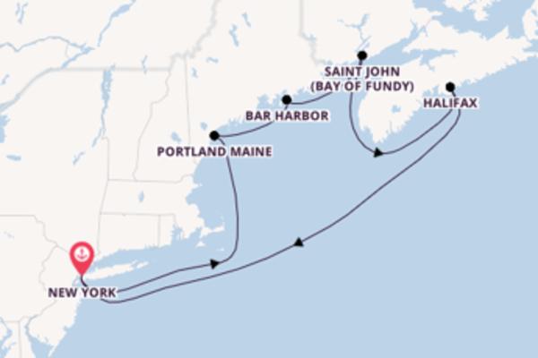 Cruise met Norwegian Cruise Line naar het charmante New York
