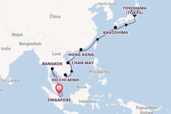 19 giorni da Singapore