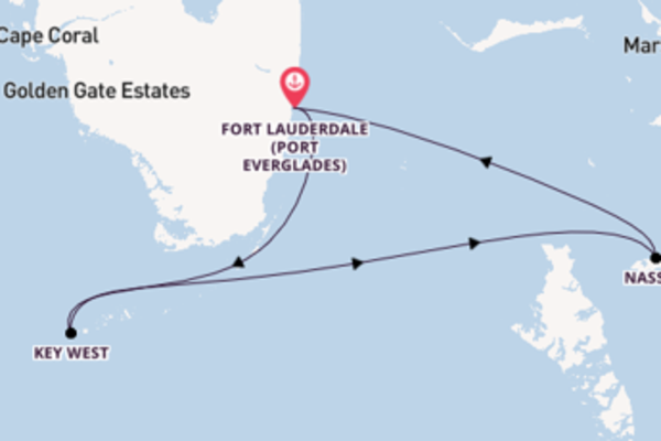 Voyage with Celebrity Cruises from Fort Lauderdale (Port Everglades)