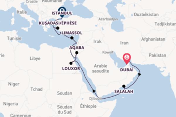 Agréable balade à bord du bateau Seven Seas Explorer