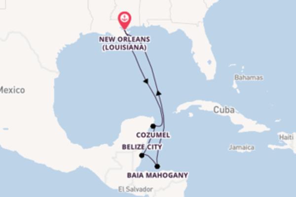 8 giorni da New Orleans