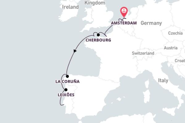 Sensational Lisbon from Amsterdam with Azamara Journey