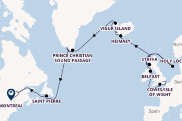 Expedition from London with the Seabourn Quest