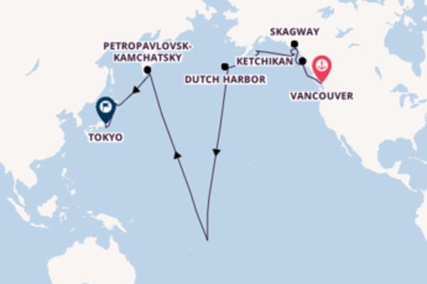Cruising from Vancouver via Petropavlovsk-Kamchatsky