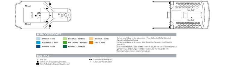 MSC Opera Dek 13 Sun Deck - Minigolf
