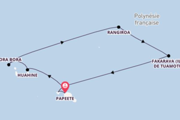 Croisière de 11 jours vers Papeete avec Paul Gauguin Cruises