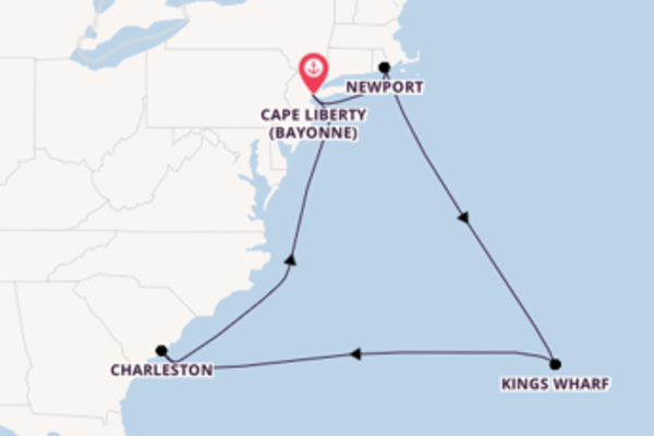 11 day cruise with the Celebrity Summit to Cape Liberty (Bayonne)