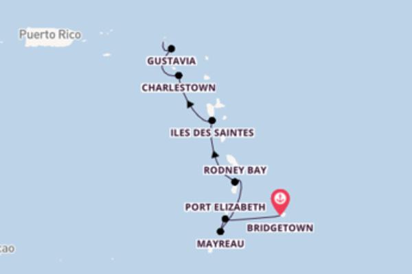 Ga mee op de SeaDream I naar Marigot