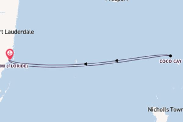 Superbe croisière de 4 jours avec Royal Caribbean