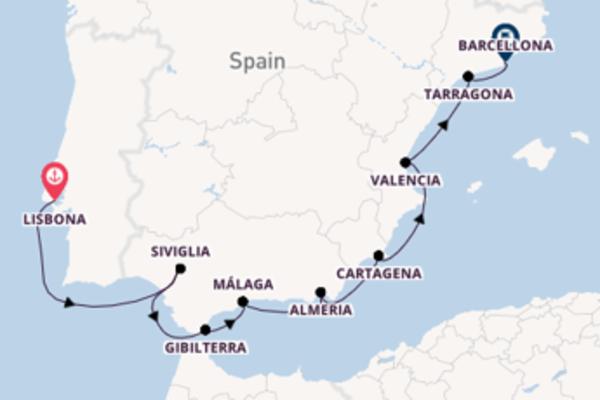 Salpando i mari da Lisbona