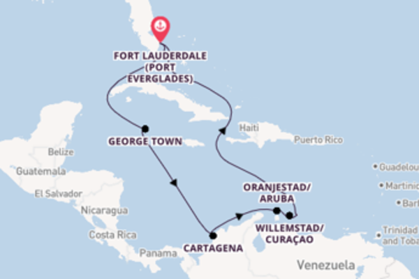 Cruising from Fort Lauderdale (Port Everglades) via George Town