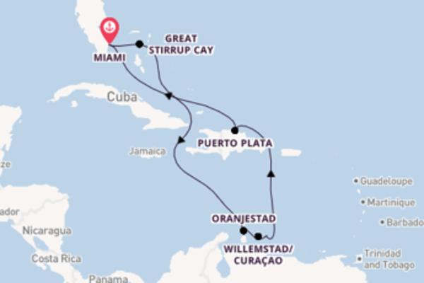 Lasciati conquistare da Willemstad/Curaçao partendo da Miami