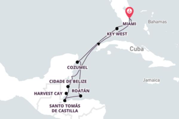 Navegando por 11 dias a bordo do Riviera