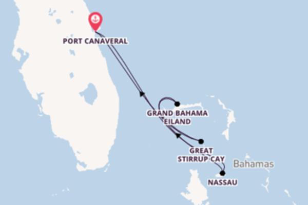 5-daagse cruise naar Grand Bahama eiland