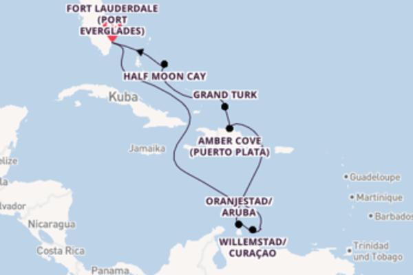 In 11 Tagen nach Fort Lauderdale
